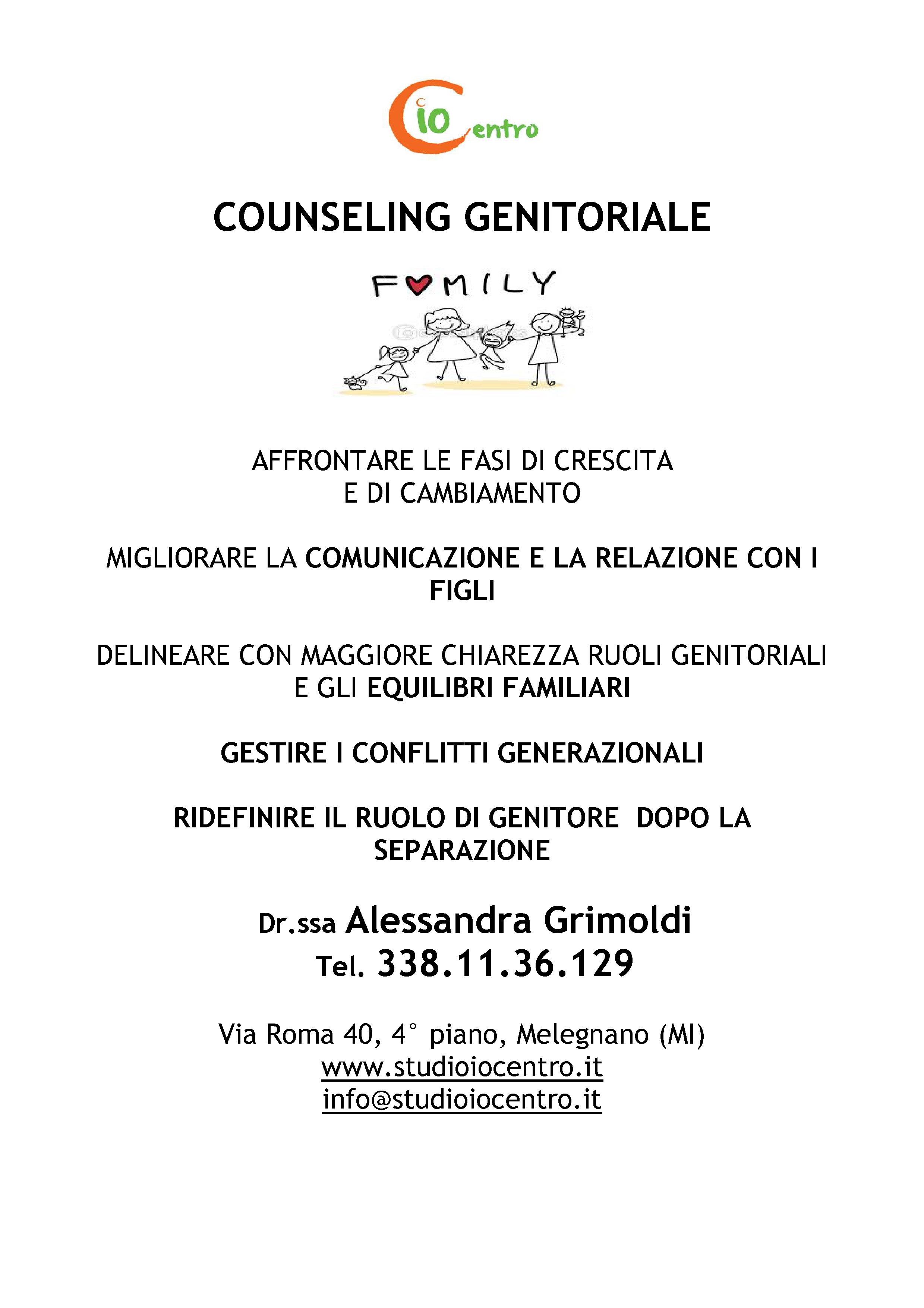 UNICO COUNSELING GENITORIALE